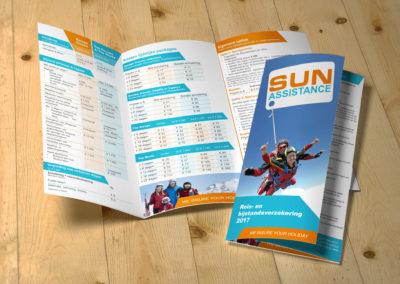 folder laten ontwerpen reisorganisatie