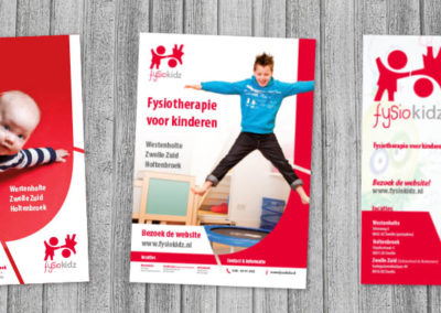 Flyer Ontwerpen Fysiotherapeut Zwolle