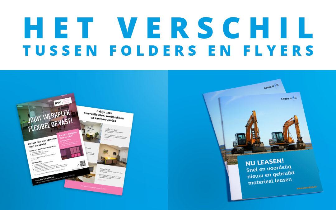 Laat je een flyer of folder maken?