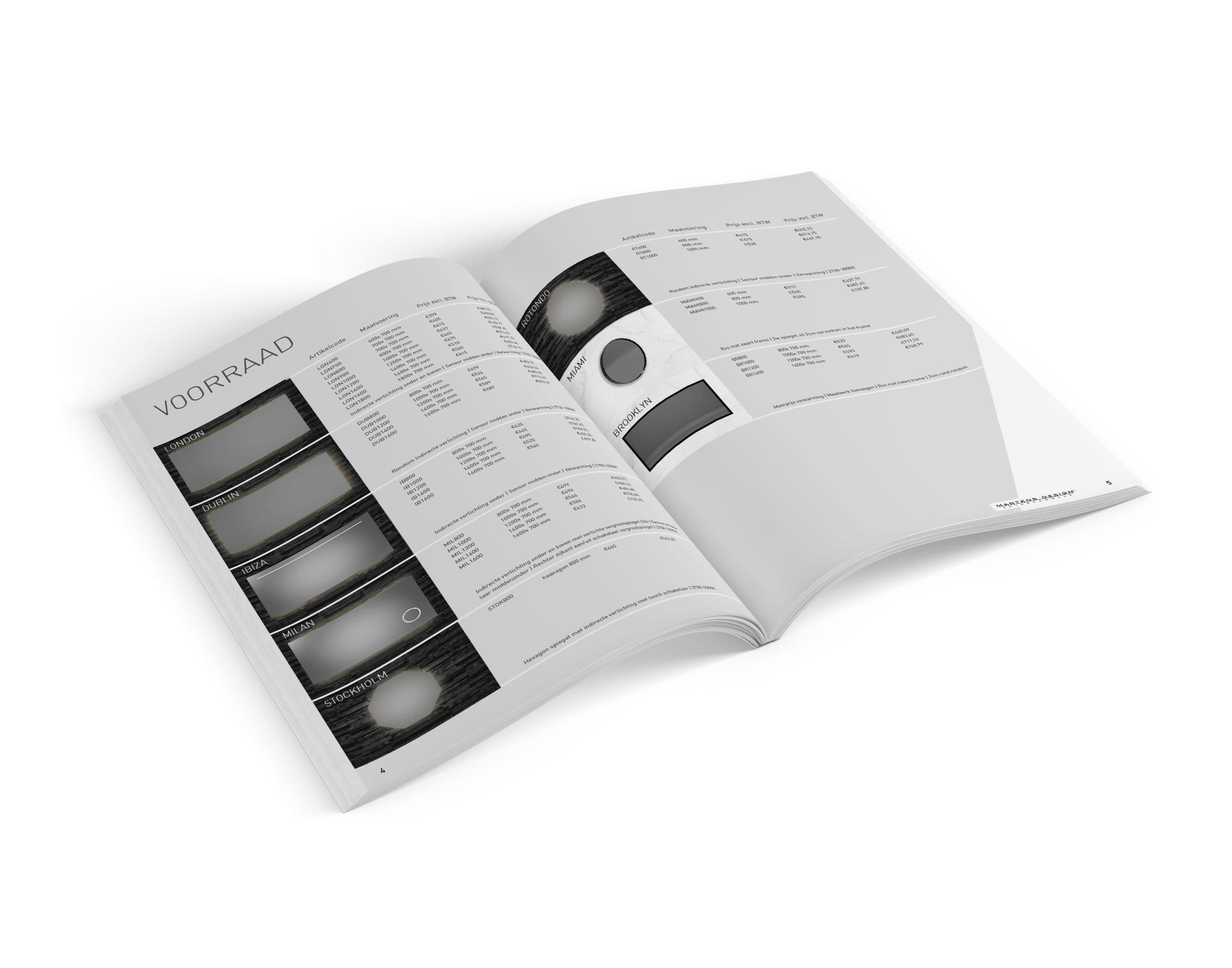 De mooiste Brochure Ontwerpen