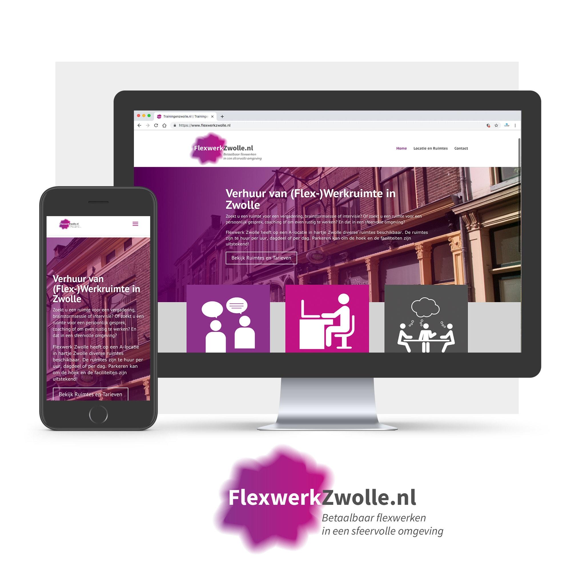 Mockup website flexwerkzwolle