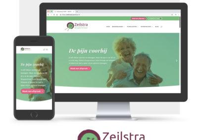 Mockup website zeilstraacupunctuur