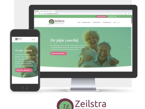 Website voor acupunctuur praktijk