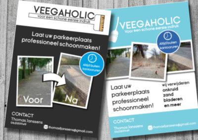 Flyer ontwerp Zoetermeer | Veegaholic