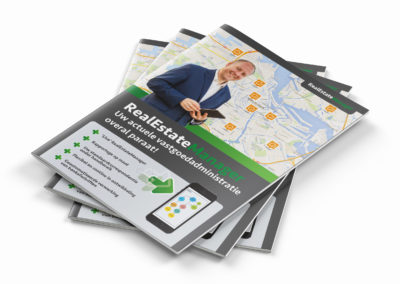 De Nr 1 in folders ontwerpen Amsterdam