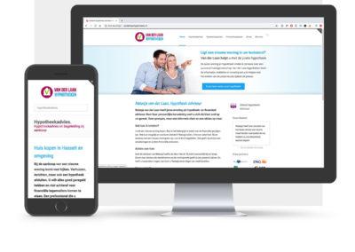 Website voor hypotheekadviseur