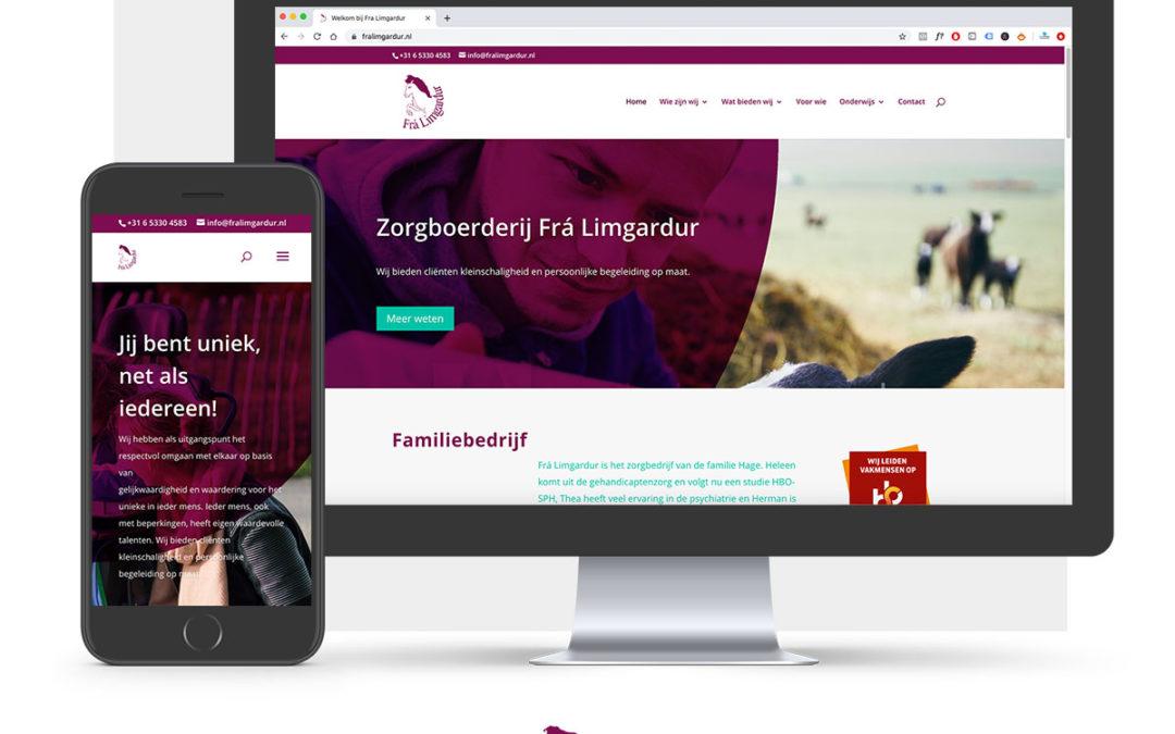 Website Zorgboerderij Heerde