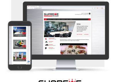 Website Supreme Reclame