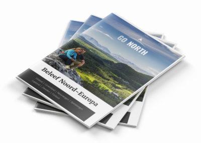 Nieuw Brochure Ontwerp Reisbureau