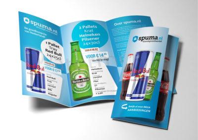 Folder ontwerp groothandel