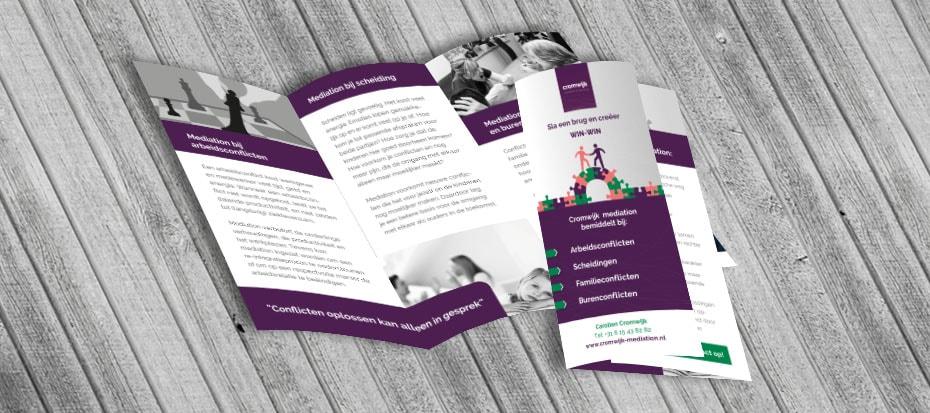 brochure ontwerp maken