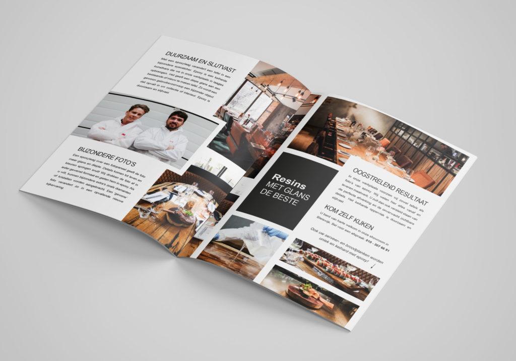 Brochure ontwerp maken koppen